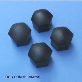 Jogo C/16 Capas Parafuso Roda Gol Bx - Quadrado Original Vw