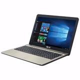 Notebook Asus Quad Core 15,6 4gb 500gb Wifi Teclado Español
