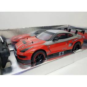 Carrinho Controle Remoto Nissan Gt-r Vermelha Corrida C43