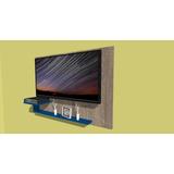 Soporte Para Tv Colgante Con Estante Para Deco 130x90cm