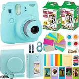 Fujifilm Instax Mini 9 Instant Camera + Fuji Instant Film (