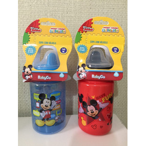 Copo Com Válvula Do Mickey Mouse 340ml - Babygo