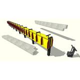Forma Para Fabricar Vigas Aéreas Em Concreto P/pre-moldados