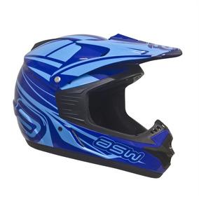 Capacete Asw Factory 16 Azul