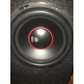 Audio Para Carro Cajon Woofer Amplificador Y Epicentro