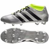 Guayos Ace 16.3 Primenesh Fg Plata Negro adidas + Cupón