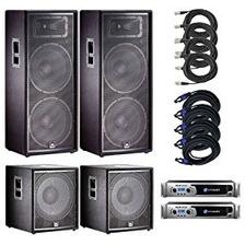 Alquiler Sonido Jbl Parlante Consola Microfonos Bandas Dj