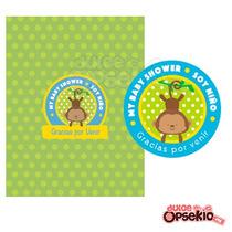 Etiquetas Personalizadas Para Dulces - Diseño Incluido