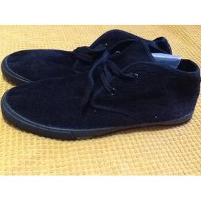 Botas Botines Caballeros Zapatos Negros Talla 43 Españoles