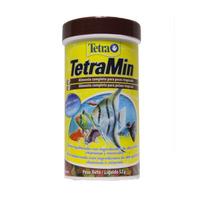 Ração Para Peixe Tetra Min Flakes 52g Paraíso Dos Aquários