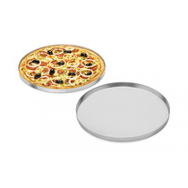 Kit Com 5 Formas Pizza Hotel 50 Cm Aluminio Abc 7948