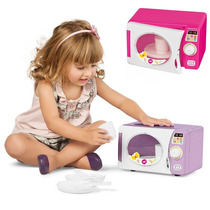 Cozinha Infantil Microondas C/ Som + 10 Acessórios Calesita