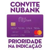 Convite Nubank Cartão De Crédito Sem Anuidade - Mastercard