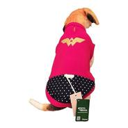 Roupa Plush G2 Superheróis Quentinha Rottweiller Dog Alemão