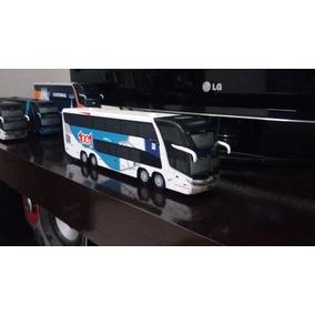 Miniatura De Ônibus Marcopolo G7 Dd 1800 Artesanal Da 1001