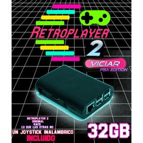 Consola Videojuegos Retro Retroplayer2 Con Joystick Wireless