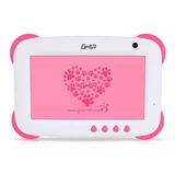 Tablet Ghia Kids 8gb Infantil Rosa Niño Niña Uso Rudo