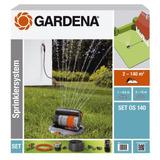 Gardena Sistema Completo Os 140 Con Rociador Oscilante...