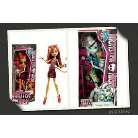 Muñeca Monster High Frankie Y Toralei