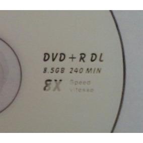 1 Dvd+r 8.5 Gb 8x Doble Capa Virgenes En Torre De 50 Pcs