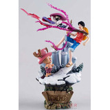 Boneco One Piece Grand Line Monkey D Luffy Musshuru Chopper