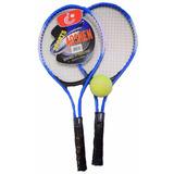 Set Tenis 2 Raquetas + Pelota + Bolso Niños Iniciacion Ofert