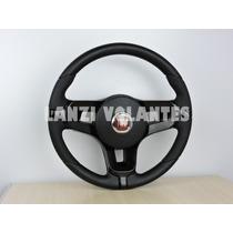 Volante Esportivo Mustang Palio Siena Uno Strada +cubo Preto