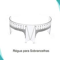 Régua M Medidor Designer E Micropigmentação De Sobrancelhas