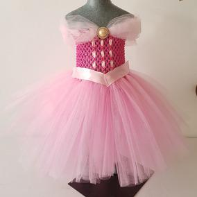 Tutú Dress Vestido De Tul De Princesa Talla 6 A 24 Meses