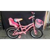 Bicicleta Para Niña R.16 Muy Poco Uso