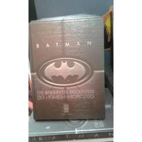 Dc Batman Os Arquivos Secretos Do Homem Morcego Capa Dura