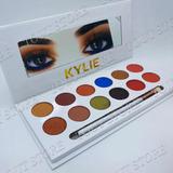 Sombras Kylie Jenner The Royal Peach Paleta 12 Tonos