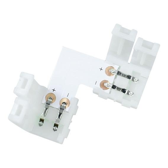 Pack X 5 Conector 10mm L O T Para Tira Led 1 Color 5050 5630