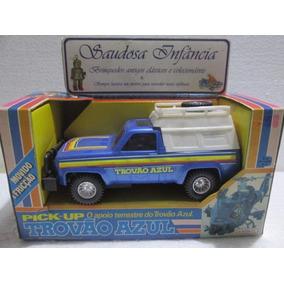 Picape Seriado Trovão Azul S/uso Glasslite
