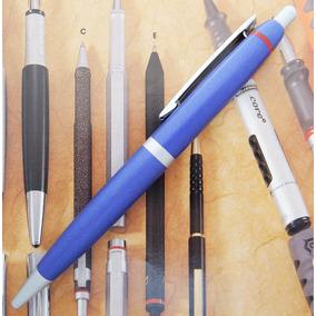 Rotring Boligrafo Clásico Años 90 Metal Azul Y Aro Rojo