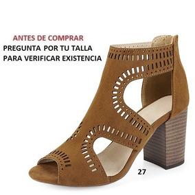 Zapatillas Miracol Para Dama Ocre Y Negro Mod. 5335