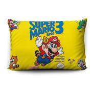 Funda De Almohada Super Mario Bros. 3 70x45cm Vudú Love