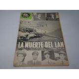 Revista Aquí Esta La Muerte Del Lan 1965