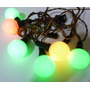 Antiguas Luces Navidad Flourecente Sylvania Funcionando