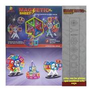 Juego Imanes Didactico Bloques Magneticos Magnetic 46 Nuevo