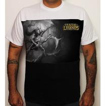 Camiseta Game League Of Legends Akali Pb 100% Algodão Exclus