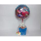 Balão Carros, Centro Enfeite De Mesa Kit Completo C/ 10un