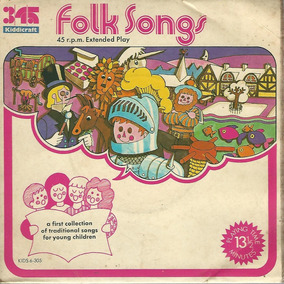 Folk Songs - Charlie Is A Handsome Man - Compacto Ep G3