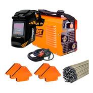 Soldadora Inverter Lusqtoff Iron100 Masc+4soport+electrodos