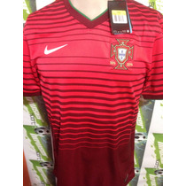 Jersey Nike Seleccion Portugal Mundial Brasil 2014 Ronaldo