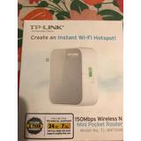 Repetidor De Señal Wi-fi 150 Mbps Tp-link