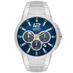 Relógio Orient Sport Cronógrafo Analógico Masculino Troca Pu