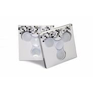 Fidget Hand Spinner Anti Estresse Branco 3 Modos De Luz