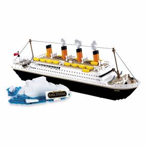 Blocos De Montar Titanic 500 Peças Cobi