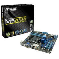 Mother Am3 Asus M5a78l-m Usb3 Am3+ Usb 3.0 Hdmi Dvi Dsub